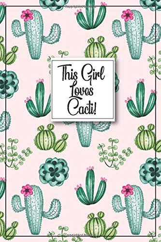 Cactus Journal - Cactus Gift: Awesome Cactus Notebook, cactus gifts for women, cactus pattern, cactus plant, cactus gifts for kids,...