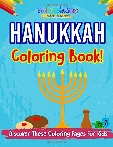 Hanukkah Coloring Book! Discover These Coloring Pages For Kids
