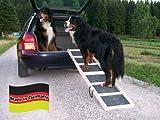 Easy-Hopper Hunderampe Komfort Natur mit Feinriefengummimatte - 2