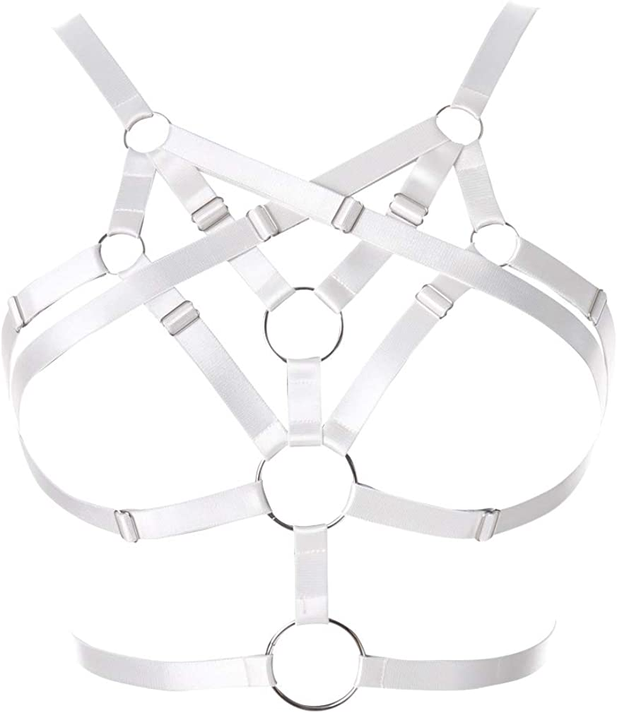 Women's Max 83% OFF Max 85% OFF Body Harness Bra Lingerie Gothic Punk Belt Festival cage