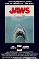 JAWS - ジョーズポスター24X36 - スピルバーグSHARK平行輸入額縁共 [並行輸入品]