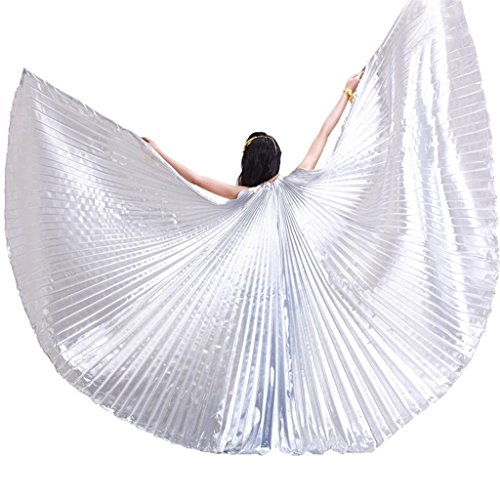 Ali di Iside prive di aste per costume da danzatrice del ventre professionista