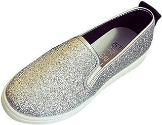Tefamore Zapatos de Mujer Zapatillas Respirable Mocasines Deportes Casual Ligero Antideslizantes Fitness Correr Calzado Deportivo Perezosos Zapatilla