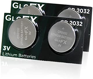 CR2032 Battery– Lithium Button Coin Cell Batteries - 3V 3 Volt - remote watch jewelry led key fob replacement 2032 CR Pack Set Bulk (4 Pack)