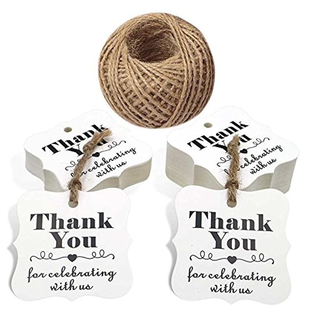 100 PCS Kraft Paper Tags with