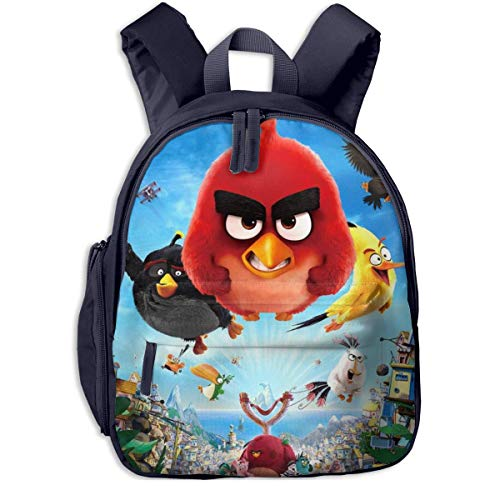 JKSA The Angry Cute Birds Movie Sac à Dos pour Enfants...