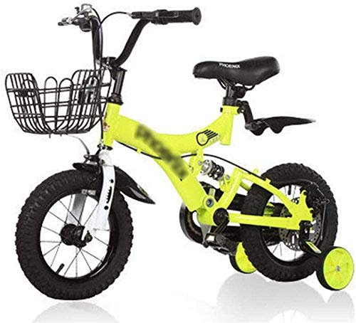HCMNME Bicicleta Duradera, Bicicletas for niños, Bicicleta de Equilibrio con Ruedas de...