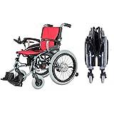 YOLANDEK 2019 Fold & Travel Lightweight Motorized Electric Power Wheelchair Scooter, Aviation Travel Safe Electric Wheelchair Heavy Duty Power Wheelchair (19 INCHES SEAT Width)