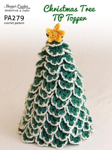 Crochet Pattern Christmas Tree TP Topper PA279-R
