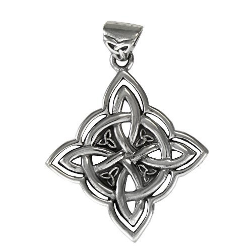 Sterling Silver Celtic Witches Knot Pendant