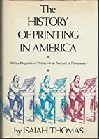 History Of Printing In America