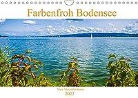 Farbenfroh Bodensee (Wandkalender 2022 DIN A4 quer): Lassen Sie sich verzaubern mit Farbenfrohen Momenten der Bodenseeregion (Monatskalender, 14 Seiten )
