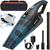 AIRSEE Handheld Vacuum Cleaner, 14 KPA Powerful Car Vacuum 2-Speed Strong Suction Cordless Vacuum with a Special Suction Port for Vacuum Storage Bags Mini Hand Vacuum for Home and Car Cleaning