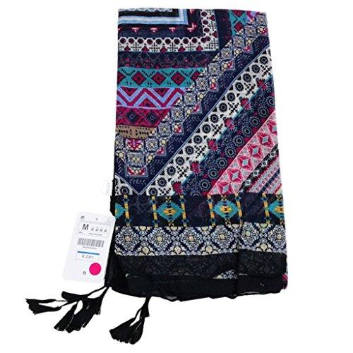 Folewr-8 - Toallas de playa de color crema solar, bufanda, falda, monedero para mujer, mezcla de algodón y lino, para la playa, viaje, acampada, natación b