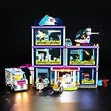 BRIKSMAX Kit de Iluminación Led para Lego Friends Hospital de Heartlake,Compatible con Ladrillos de Construcción Lego Modelo 41318, Juego de Legos no Incluido