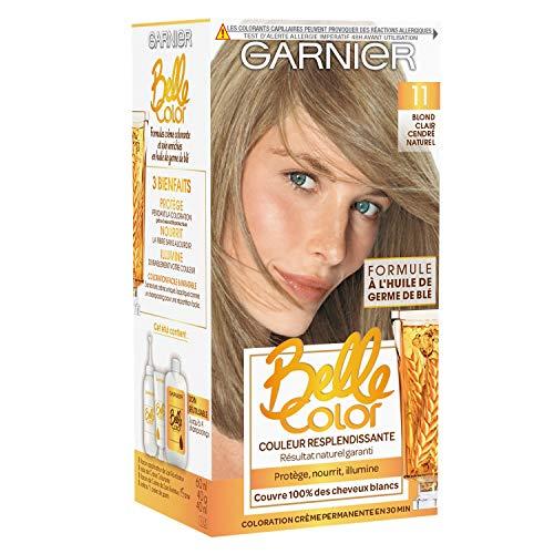 Garnier - Belle Color - Coloration permanente Blond - 11 Blond clair cendré naturel