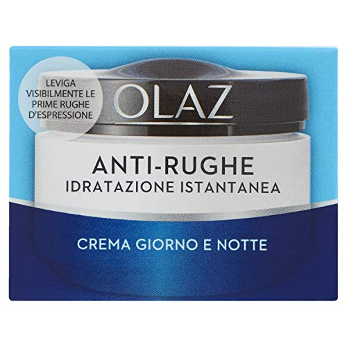 Olaz - Anti-Rughe, Idratazione Istantanea, Crema Giorno, 50 ml