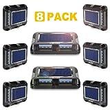 Best Step Lights - Solar Deck Lights, MEIKEE Solar Dock Light Waterproof Review