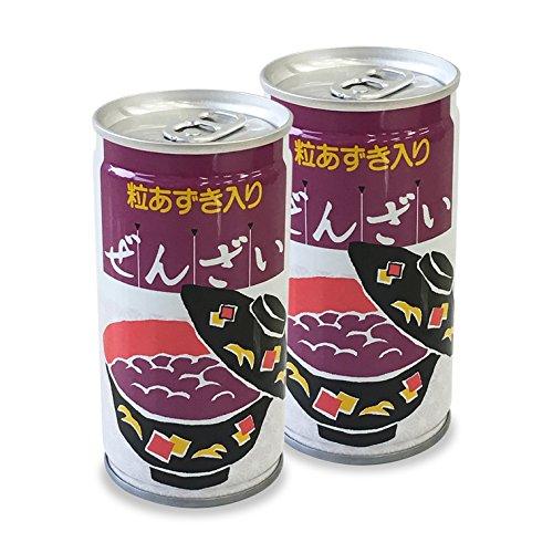 プラム食品『粒あずき入り 缶入りぜんざい』