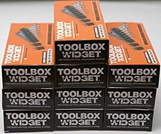 Toolbox Widget - Modular Wrench Organizer for Tool Drawer Storage   Magnetic Wrench Holder   Tool box Kit for Professional...