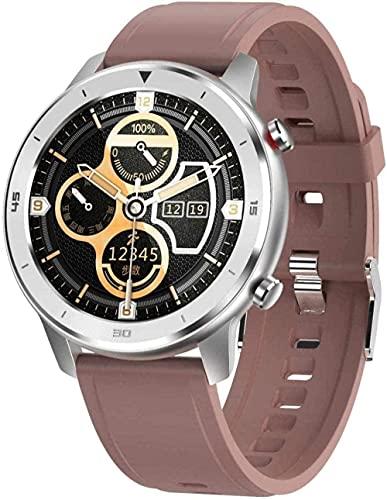 Smart Watch 1 3 pulgadas pantalla táctil de alta definición multifuncional modo deportivo podómetro impermeable pulsera Bluetooth inteligente para Android y iOS marrón