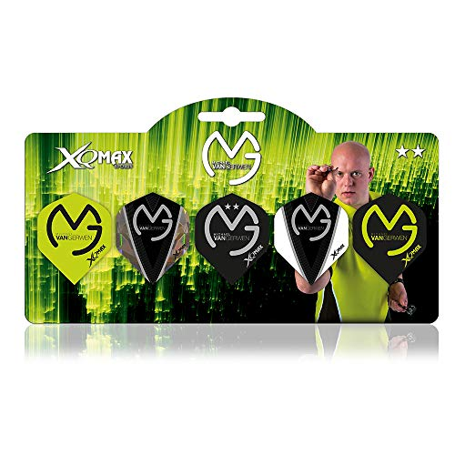 XQMAX Multipack Flights Michael van Gerwen, 5 Sets