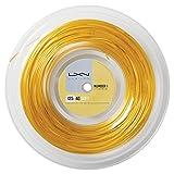 Luxilon 4G Soft Cordaje de tenis, rollo 200 m, unisex, dorado,...