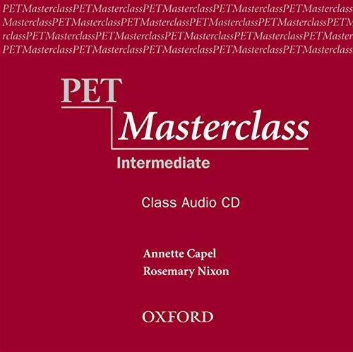 PET Masterclass, Intermediate : 1 Class Audio-CD (Preliminary English Test (Pet) Masterclass)