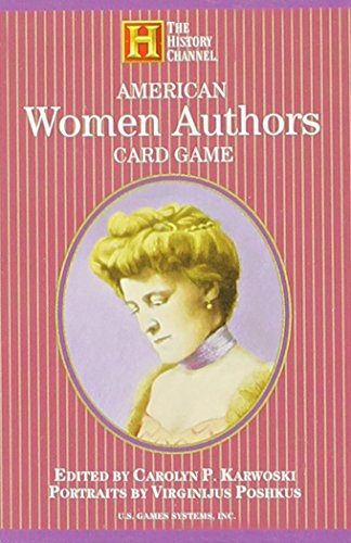 Compare Textbook Prices for American Women Authors Card Game History Channel  ISBN 9781572814530 by U.S. Games Systems,Inc.