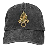 Reality And Ideals France French Foreign Legion Adjustable Sport Jeans Baseball Golf Cap Hat Unisex Style Black