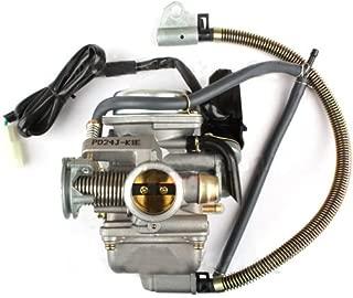 X-PRO 24mm Carburetor w/Electric Choke for GY6 150cc Mopeds Scooters ATVs Go Karts Carb 150 CC Quad 4 Wheeler 150c Dune Buggy Sandrail Taotao Sunl Roketa Jonway