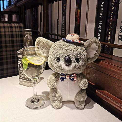 JMKHY Couple Cute Koala Mouse Plush Stuffed Soft Doll Transform Koala plush mouse Baby soothing toy bag accessories-Koala_2