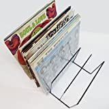 Soporte Rack para 70 Discos DE Vinilo LP -Vintage- Ref.1808 - Marca Cuidatumusica -