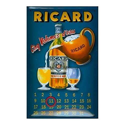 Bord Ricard - 5 waterdispenser - kalender