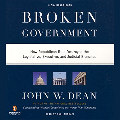 Broken Government audiobook cover art