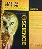 Glencoe Integrated iScience, Course 3, Grade 8, Vol. 1, Teacher Edition
