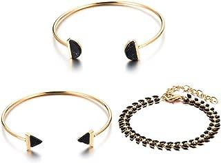Best black and gold bracelet Reviews