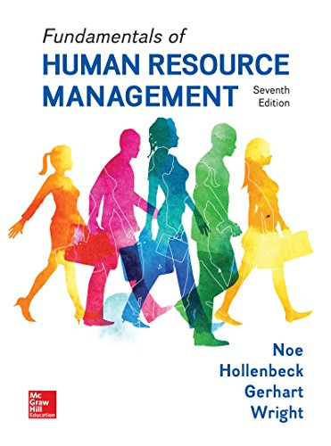 Compare Textbook Prices for Fundamentals of Human Resource Management 7 Edition ISBN 9781259686702 by Noe, Raymond,Hollenbeck, John,Gerhart, Barry,Wright, Patrick