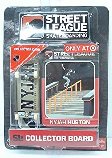 Street League Skateboarding Pro Series 1 Tan Skateboard & Nyjah Huston Collector Card Target Exclusive by Ronin Syndicate