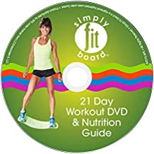Simply Fit Board Workout DVDs - 21 Day Challenge DVD, Core & Buns DVD