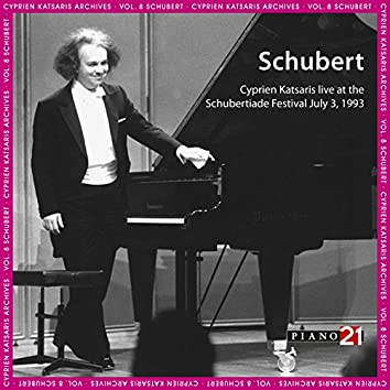 Live at the Schubertiade, July 3, 1993 - Vol. 2: Piano Sonata, D. 960 & Encores (Cyprien Katsaris Archives, World Premiere Recordings)