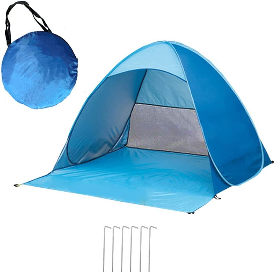 Pop Up Portable Beach Canopy Complete Free Shipping UV Sun Triangle Outdo Shelter Cheap SALE Start Shade