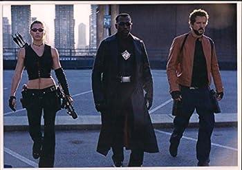 Blade Trinity Jessica Biel Wesley Snipes and Ryan Reynolds Ready 7 x 10 LAMINATED Photo 003