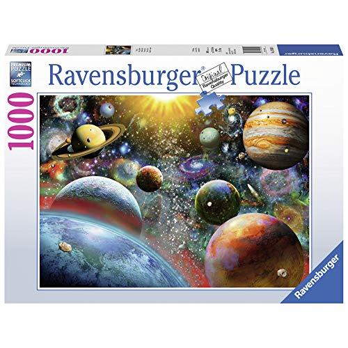 Ravensburger Puzzle 19858 - Planeten - 1000 Teile Puzzle für Erwachsene und Kinder ab 14 Jahren, Puzzle mit Weltall-Motiv