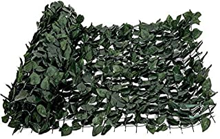 FASHION GARDEN Faux Ivy Privacy Fence Screen Artificial Hedge Fencing Outdoor Decor 59118 INCH Hard Mesh Backing (1)