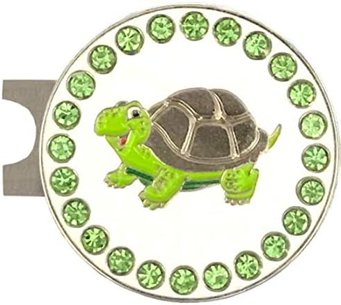 Giggle Golf discount Bling Turtle Ball Marker store Standard with Hat Cl A