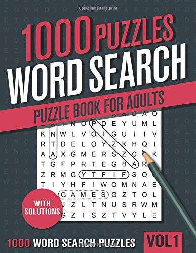 Compare Textbook Prices for 1000 Word Search Puzzle Book for Adults: Big Puzzlebook with Word Find Puzzles for Seniors, Adults and all other Puzzle Fans  ISBN 9798639249419 by books, visupuzzle