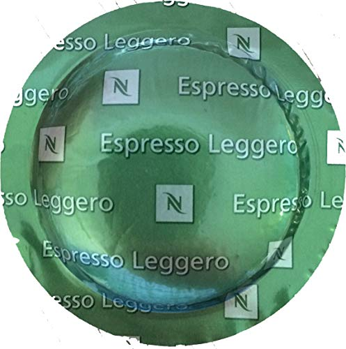 Nespresso Espresso Leggero (1 Box of 50 Capsules) for Commercial Machines
