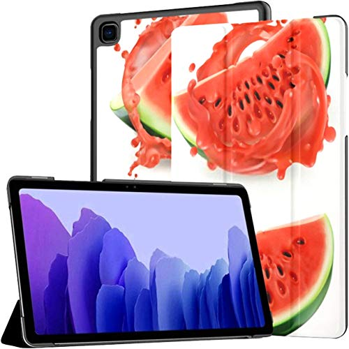 Case For Samsung Galaxy Tab A7 10.4 Inch Tablet 2020(sm-t500/t505/t507), Watermelon Juice Fresh Fruit 3d Realistic Multiple Angle Stand Cover With Auto Wake/sleep
