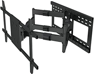 """Heavy Duty Articulating Arm Long Extension TV Wall Mount Bracket with 24"""" Stud Support (32"""" Extension arm)"""